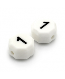 Letra Silicona 15mm x 10mm