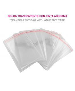 Bolsas de Celofán Transparente Plastico 16cm x 24cm