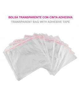 Bolsas de Celofán Transparente Plastico 24cm x 24cm