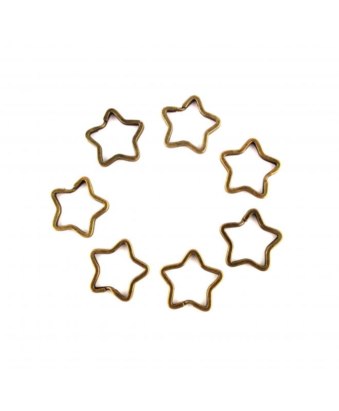 Llavero Estrella 34mm x 34mm