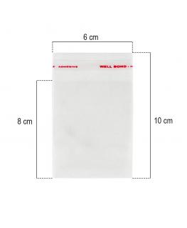 Celofane Transparente Sacos De Plástico 30 Cm X 30cm Cf