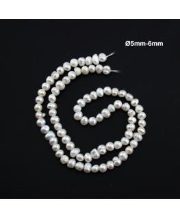 perlas  Naturales Ø5mm-6mm