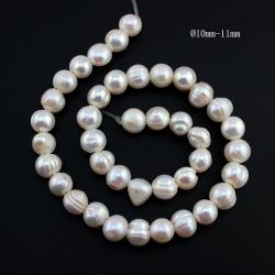 Perlas Naturales Ø10mm-11mm