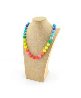 Collar Lactancia Multicolor