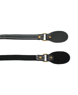 2 Synthetic Leather Handles for Bag Handbag Strap