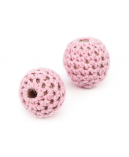Lote 20 Bola Crochet Ø 20mm