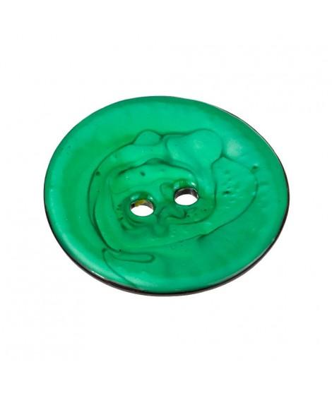 Botones Circulares Coco de Colores Nacarados 63mm