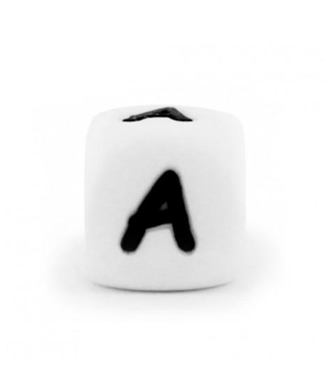 Cubo Letras Cuadradas Silicona para Mordedores.