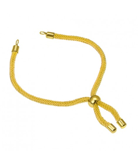 Gold Smooth Ball Bracelet Base