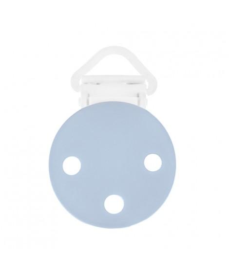 RUBY Azul Pastel Clips para Chupeteros 16 Pinza para Chupete Plastico
