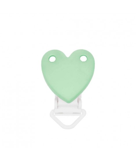 Heart Silicone Clamp