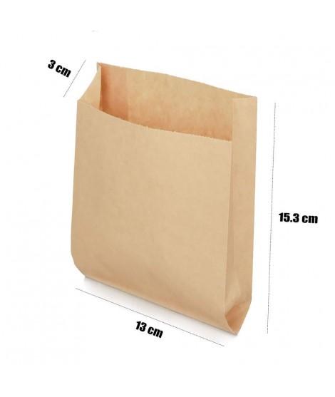 Bag 13cm x 15,5cm Kraft Paper