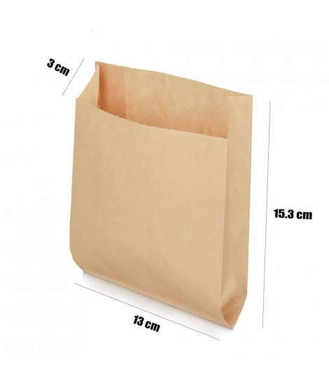 Bolsa Papel Kraft 13cm x 15.5cm