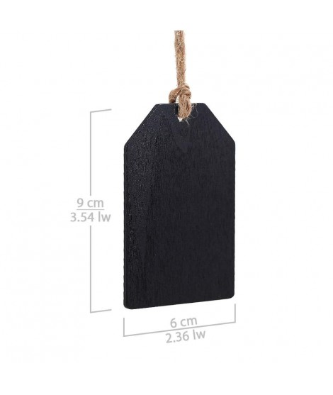 Hanging Wooden Blackboard Labels for Gifts