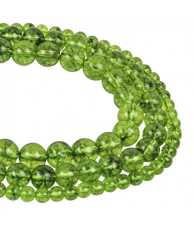 Olive Quartz Beads