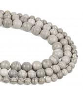 Zebra Jasper Beads