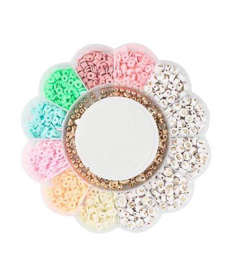 Kit Bracelets with Acrylic Letters