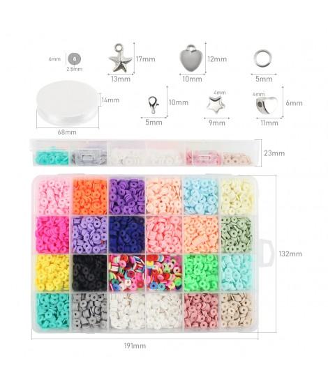 Kit Fimo Multicolor para Pulseiras
