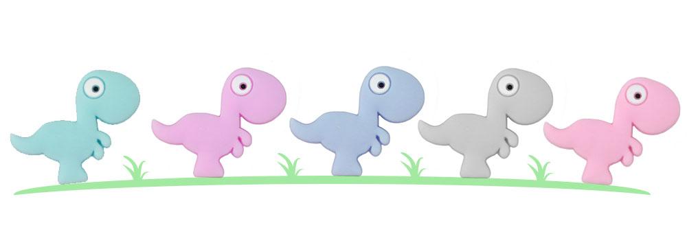 Dinosaurio Silicona