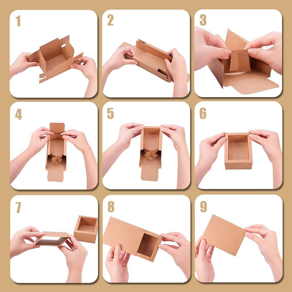 Cardboard boxes Kraft type of matches
