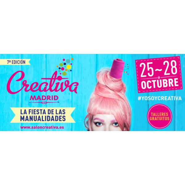 Feria Creativa Madrid Octubre 2018